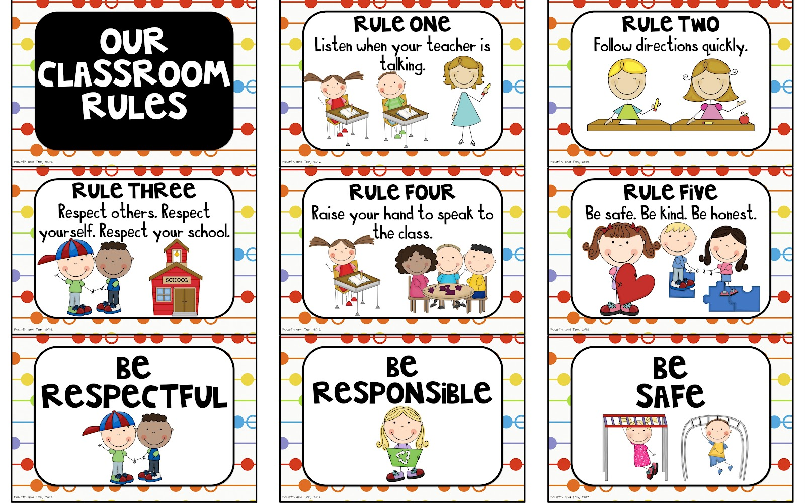 photograph about Classroom Rules Printable identify Clroom Recommendations and Legislation - Pass up Reesers and Overlook
